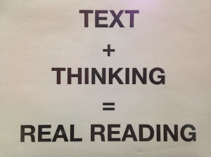 What is real reading?