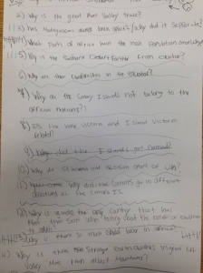 Student generated questions let the kids lead the learning...